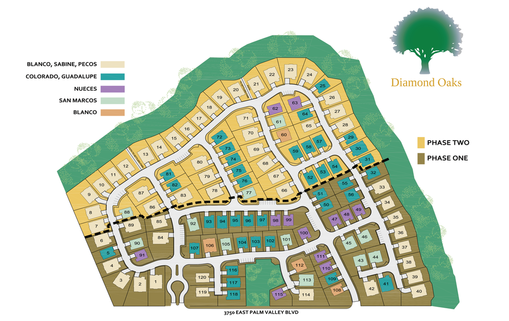 Now Pre-Selling in Phase II at Diamond Oaks