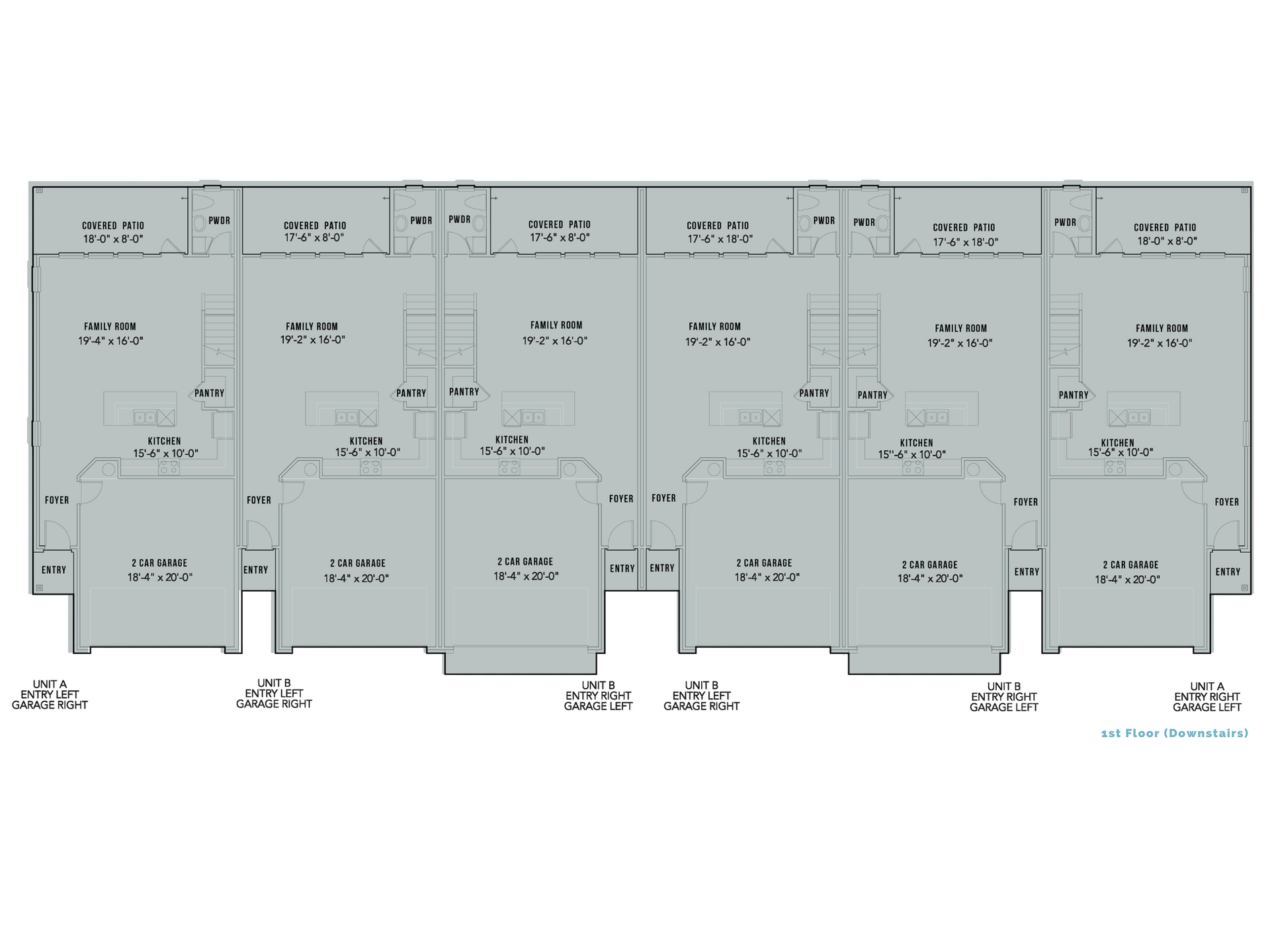 View Blackburn Commumities Floorplans