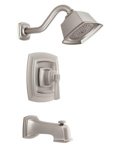 Included: Moen: Boardwalk Posi-Temp Tub & Shower Trim; Model: T2163EPSRN/2580