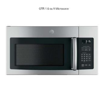 Microwave Above Range